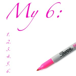 My 6 notepad