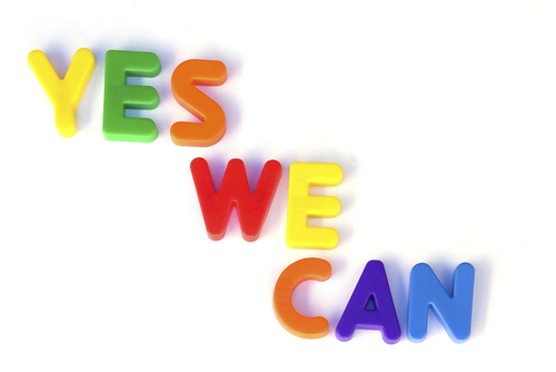 Yes we can poster