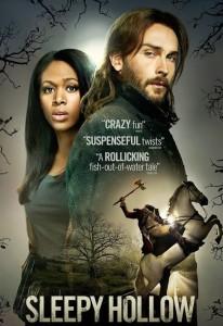 Sleepy Hollow tv series starring Tom Mison, Nicole Beharie, Orlando Jones, Katia Winter, Lyndie Greenwood, John Noble