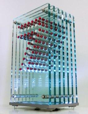 Glass Acrylic Light Sculpture Bruckner