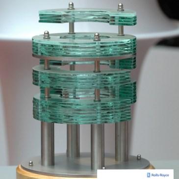 Glass Steel Sculpture Award German Community