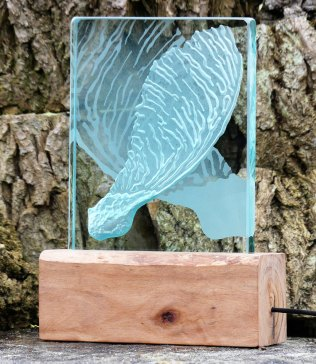 Sycamore Seed Glass Light