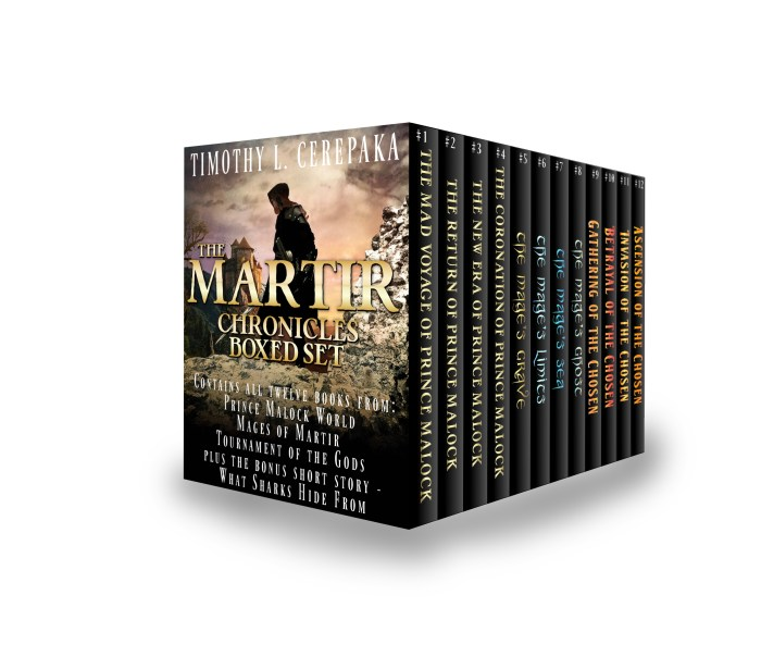 The Martir Chronicles Box Set