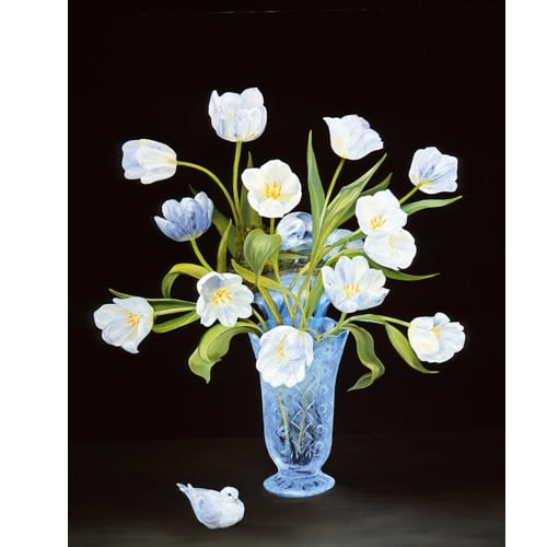 Dove White Tulips