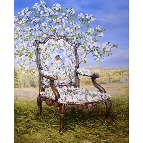 Flowering Crabapple Chair