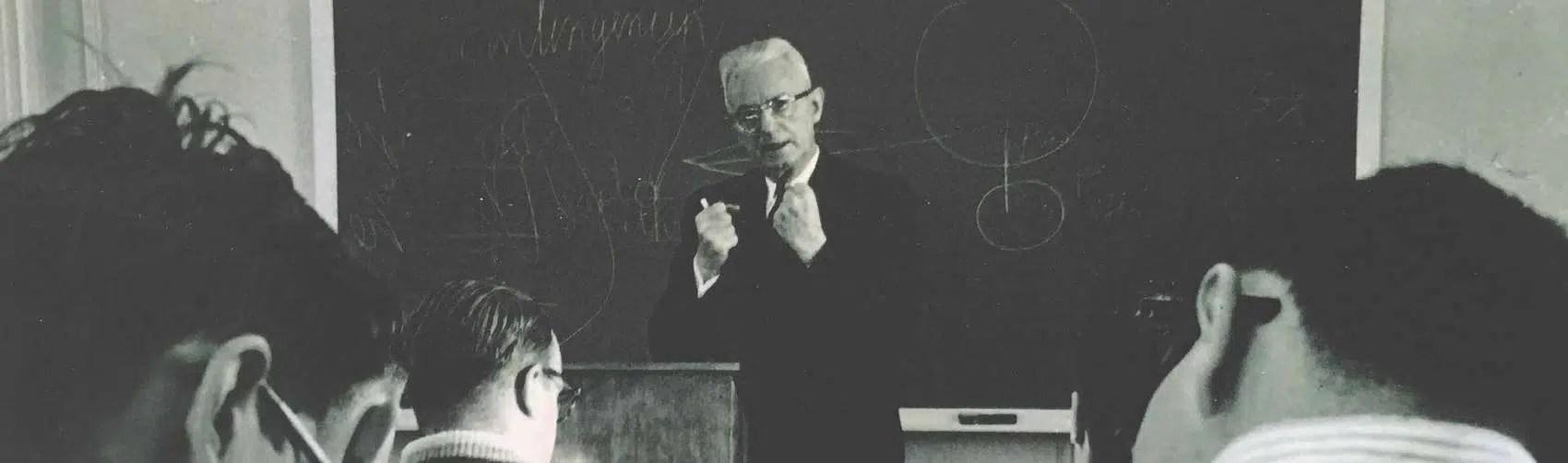 Cornelius Van Til teaching