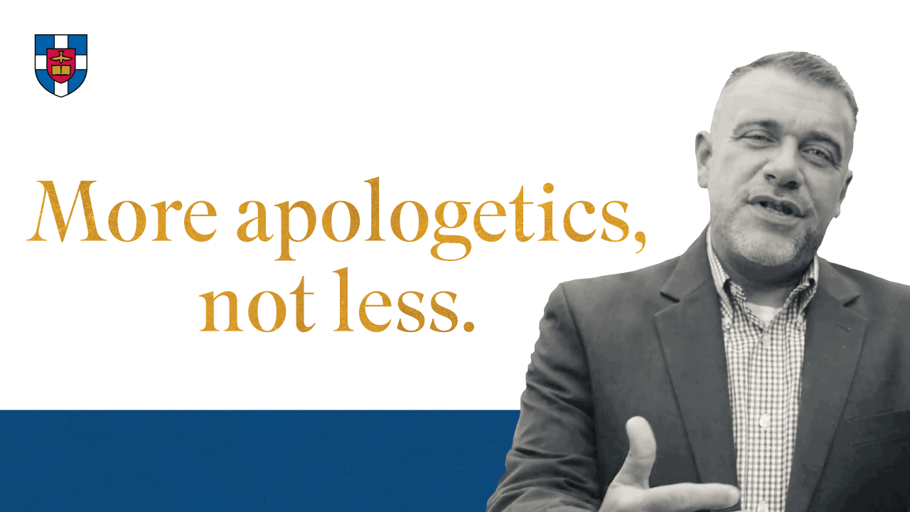 Timothy Paul Jones and Reforming Apologetics