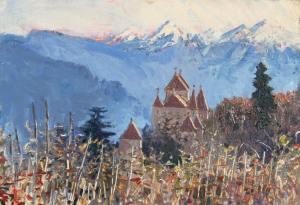 Schloss near Brixen