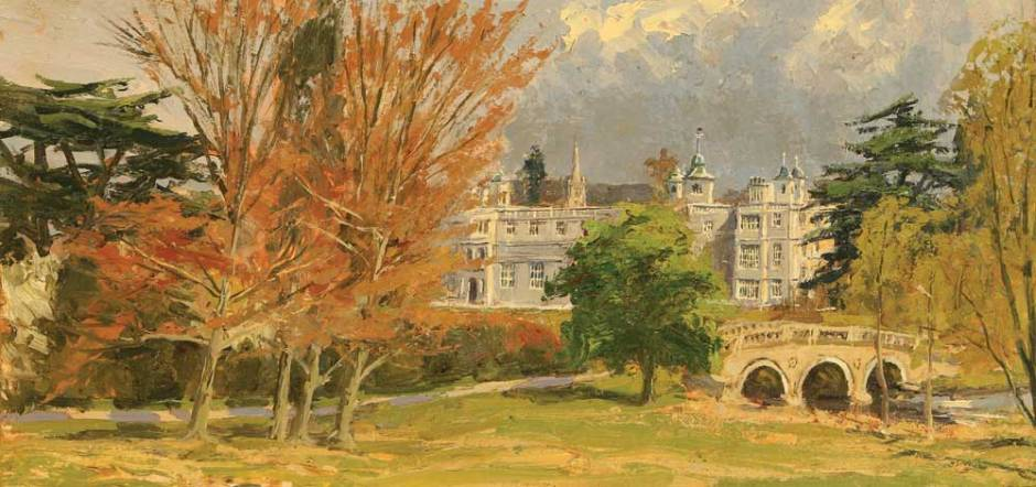 1763-Audley-End-House-and-Bridge,-Essex-oil20x40