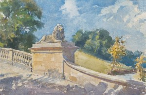 1754 Burghley Lion Bridge, Lincs wc36x53