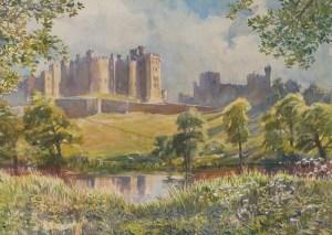 Alnwick Castle, Northumberland wc52x73