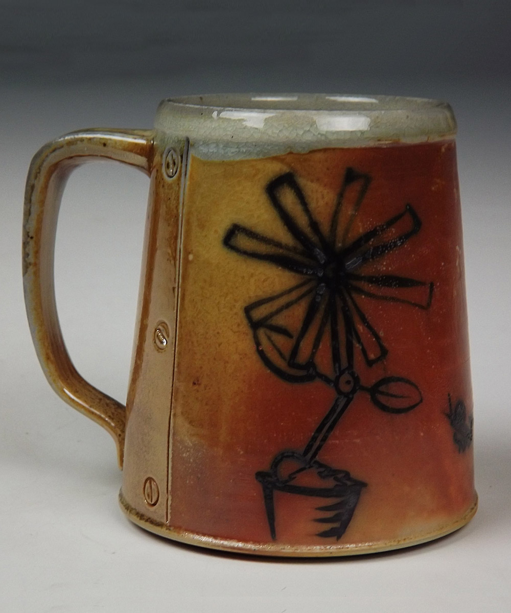 Mechanical Flower Mug