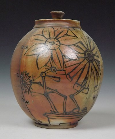 Mechincal Flower Jar