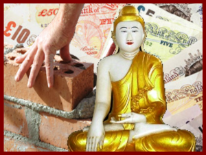 Buddhism, Bricklaying and Banking Up To A £1000 A Day