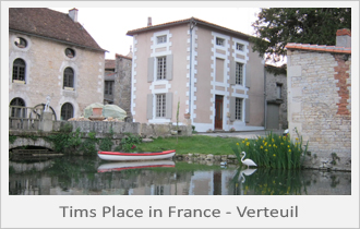 Tims Place in Verteuil France