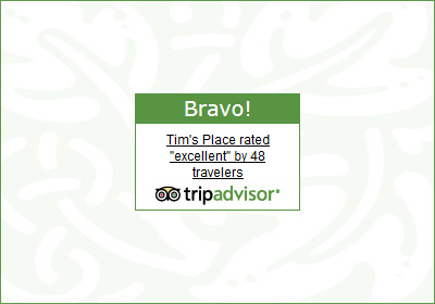 Tim's Place on Trip Advisor