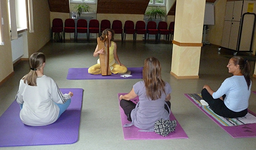 Yoga at Tims Place, Halls Gap