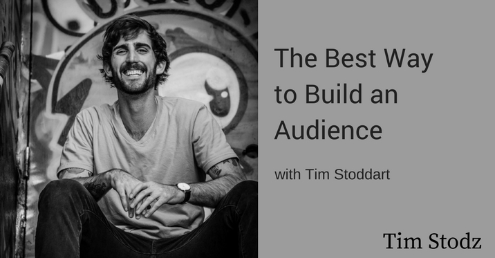 the best way to build an audience
