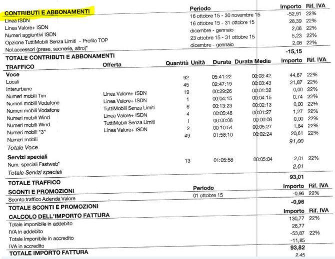 contributi e abbonamenti