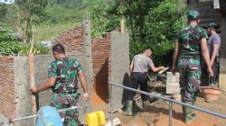 Hari Ke-5 TMMD Kodim 1428 Mamasa di Kecamatan Sumarorong
