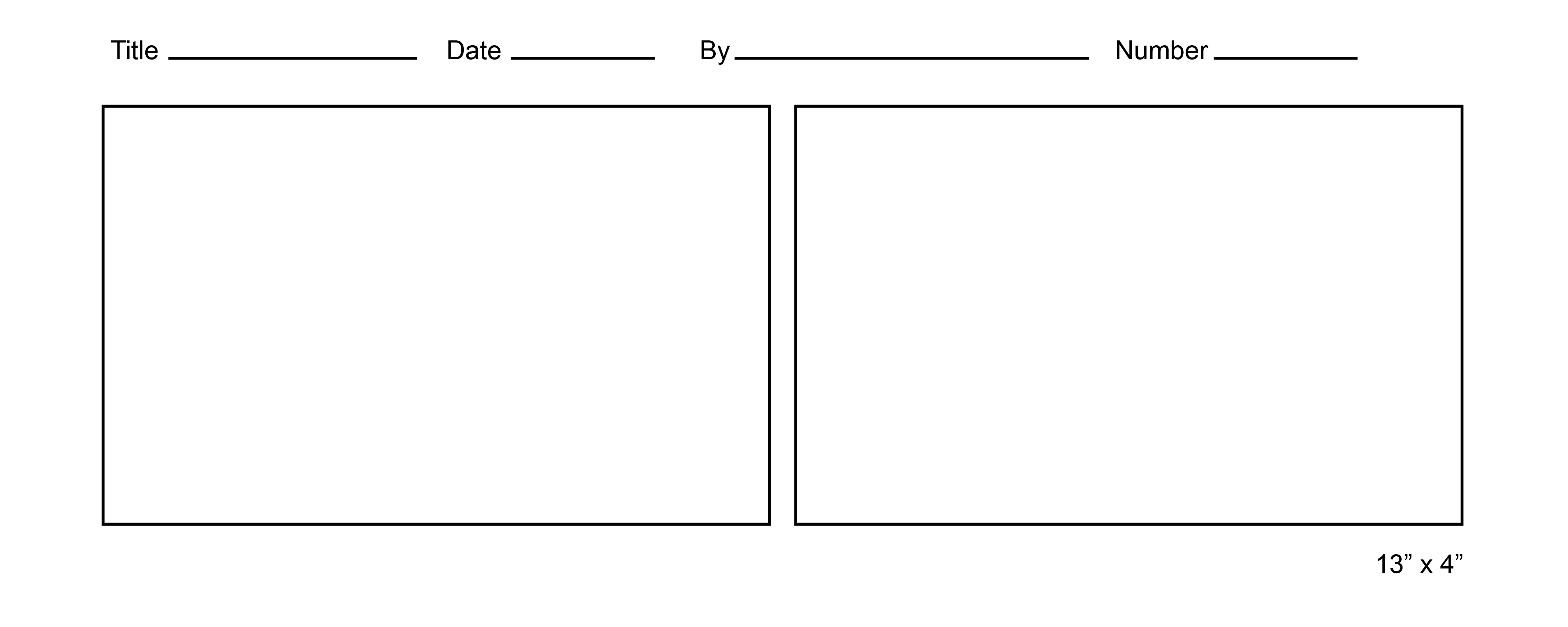 Free Comic Strip Template For Kids