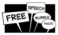 Free Speech Bubbles
