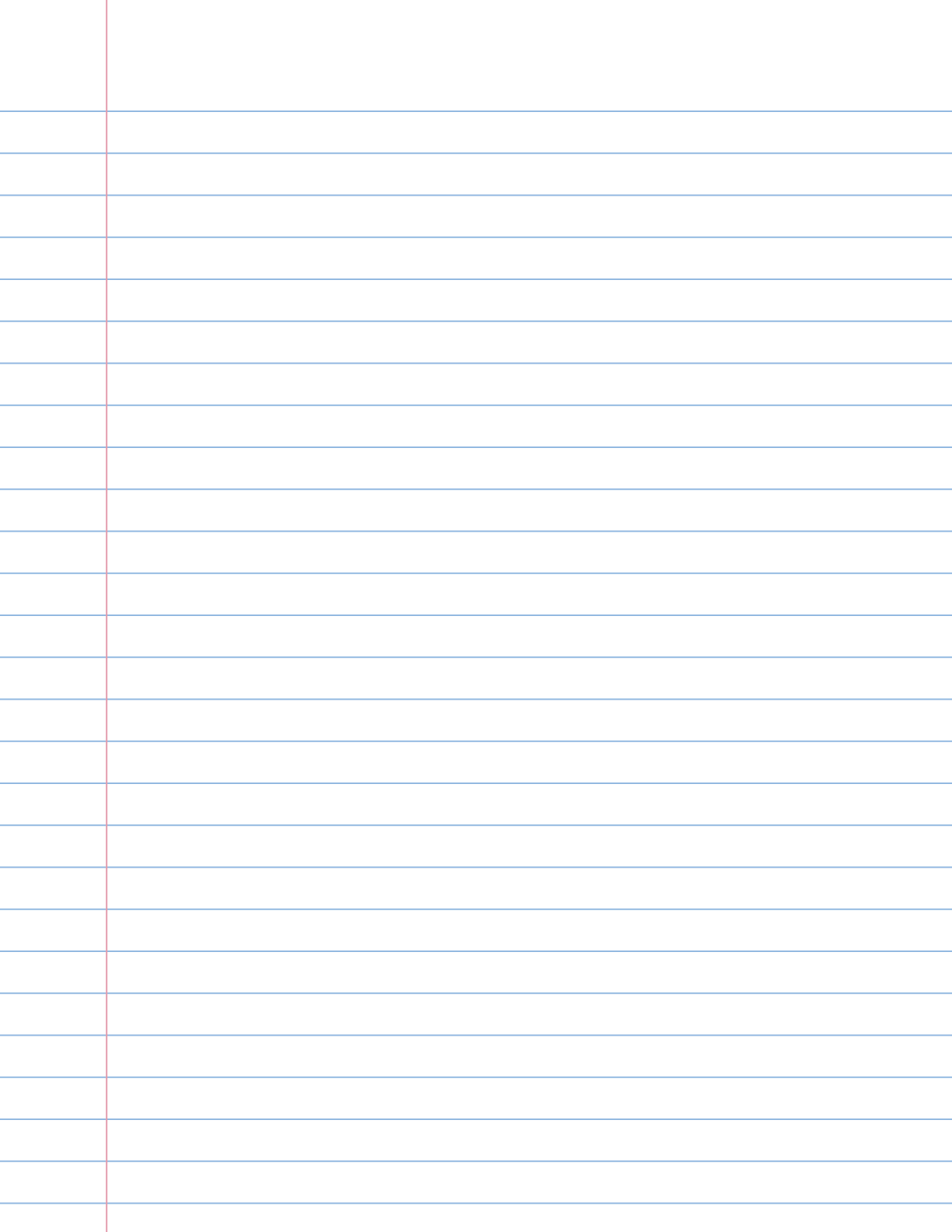 Ruled Paper Template displaying 17 gt images for wide ruled lined – Free Lined Paper to Print