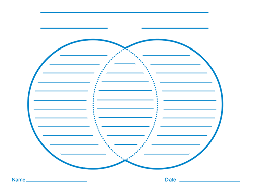 Venn Diagrams with Lines