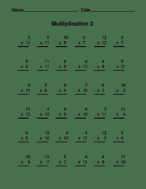 Multiplication Worksheets-08