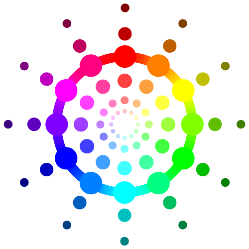 RGB Color Wheel Circle
