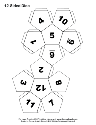 Dynamite image regarding printable dice template