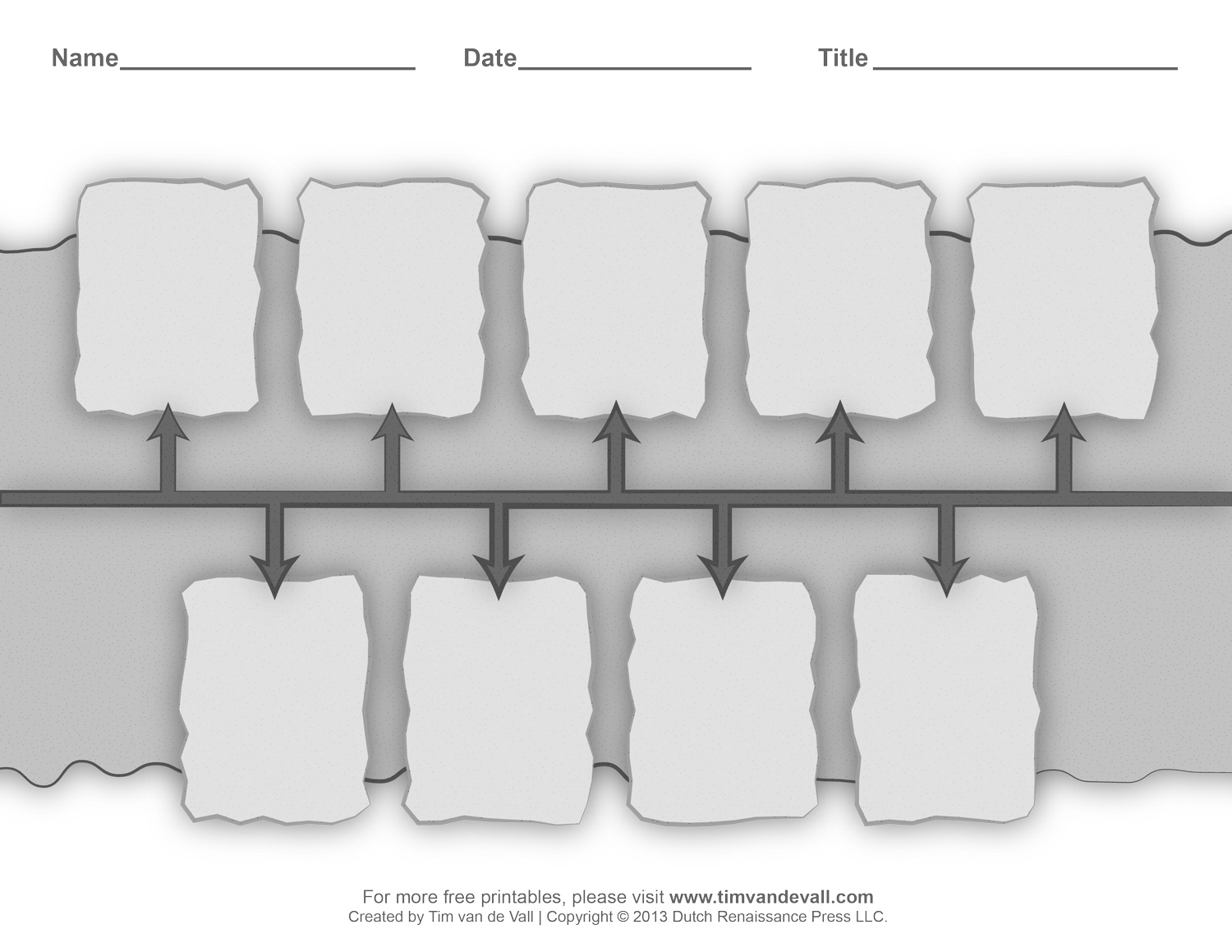 Printable History Timeline Worksheets For Classrooms