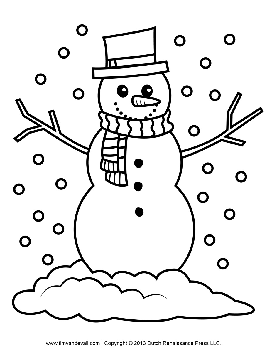 The Best Snowman Clipart Simple