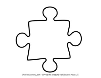 Blank Puzzle Piece
