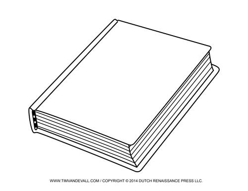 Book Cover Clip Art Image