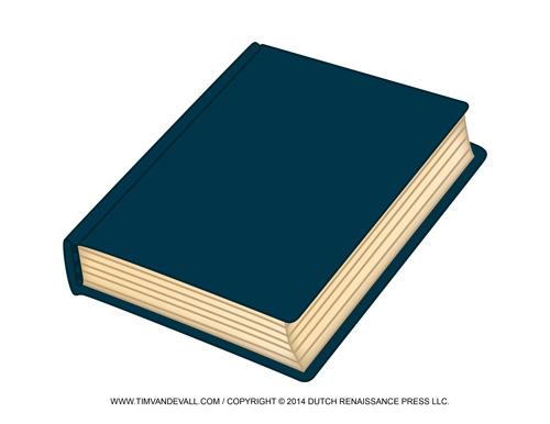 Closed Book Clip Art