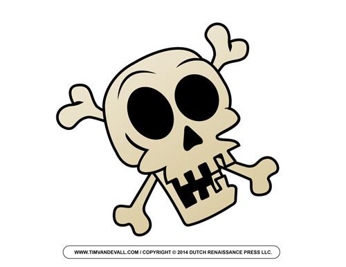 Pirate Skull Clip Art