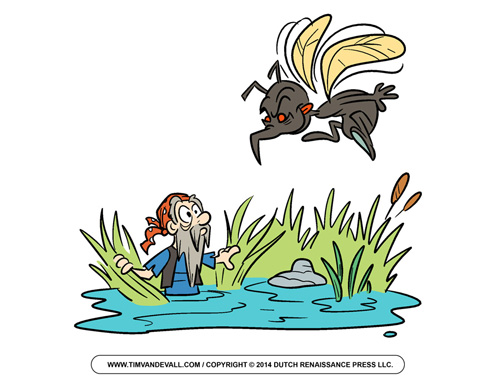 Okefenokee Swamp Pirate Clip Art