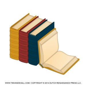 """School Book Clip Art Image. Right-click on the image and press """"Save-Image As..."""" to save it to your computer. This image is free for personal and educational use only. Commercial use is prohibited."""