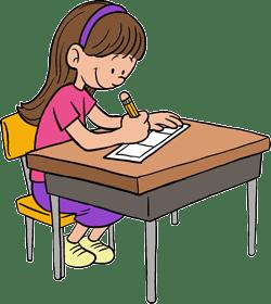 Girl Drawing Comic Strip