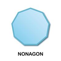Nonagons