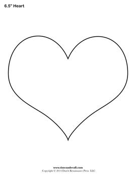 Free Printable Heart