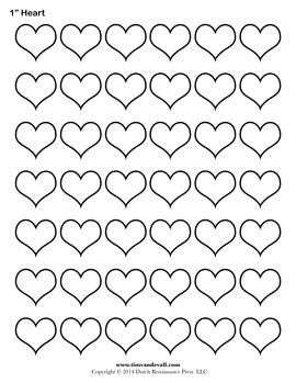 Blank Heart Template