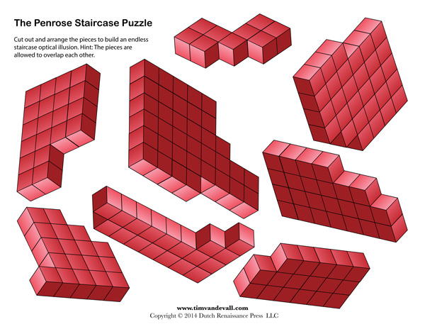 Penrose Staircase Puzzle