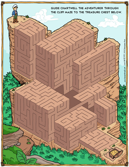 maze puzzle for kids