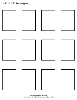 Impertinent image with regard to rectangle template printable