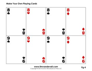 Playing Card Deck Templates