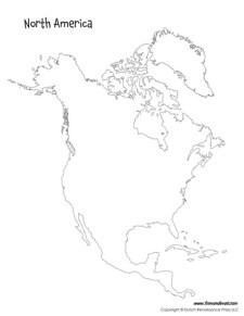 North America Map