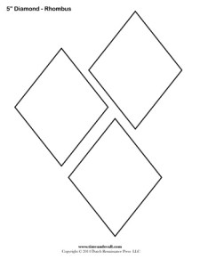Diamond Templates - 5 inch