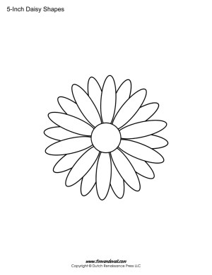 blank Daisy template